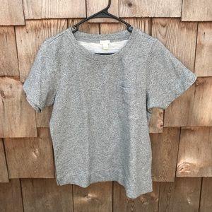 J. Crew Factory Short Sleeve Pocket Sweatshirt L